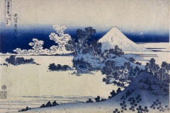 Shichirigahama-beach-Sagami-province-from-Thirty-six-views-of-Mt-Fuji.-Colour-woodblock-1831.-cBritish-Museum.