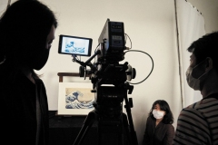 filming-Hokusai-works-3