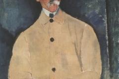 Modigliani_Portrait-of-Lepoutre-1916