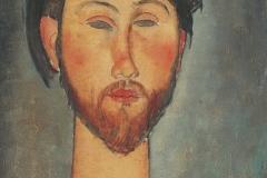 Modigliani_Portrait-of-Zborowski-1916